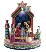 Musical Nativity Scene