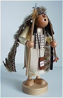 Standing Indian Chief