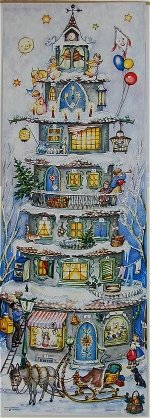 Tall House Advent Calendar
