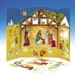 Nativity Scene with Stickers