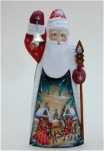 Father Frost with Staff and Bell