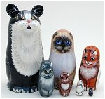 Cats Set of 7